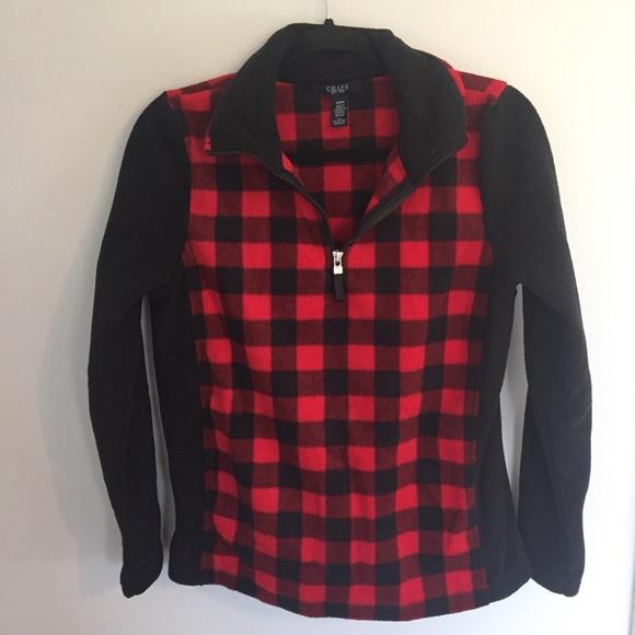 8f7133bb994 Chaps Tops - Chaps Ralph Lauren Red Buffalo Plaid Pullover